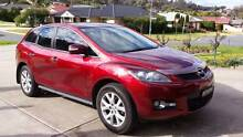 2007 Mazda CX7 Luxury (4x4) Red Auto 5 months rego 4 newish tyres Eastwood Ryde Area Preview