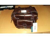 Karen Millen Brown leather Hand Bag