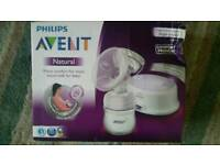 Philips Avent Comfort Single Electric Breast Pump including Breast Milk Storage Bags