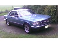 MERCEDES 420 SEC AUTOMATIC PETROL 4.2 £3995