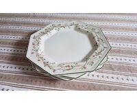 """Eternal Beau x3 Dinner Plates 10"""""""