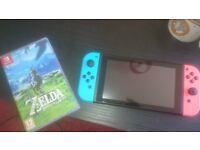 Nintendo Switch + Zelda BoW
