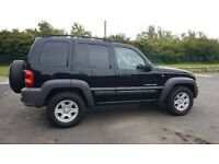 Beautiful black cherokee sport 2.8 auto,all new tyres and great spec