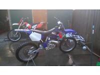 Yamaha yz250 swaps