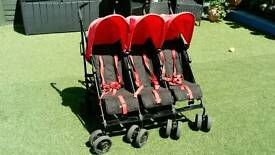 Obaby triple buggy