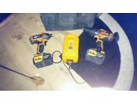 Triton 20 volt 4.0ah lithium drill and impacter set