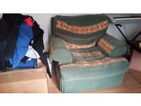 Sofa and two armchairs good condition