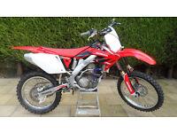 HONDA CRF250R 2005 4 STROKE MOTOCROSS CRF 250