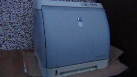 Hp laser colour printer (for spare and repairs)
