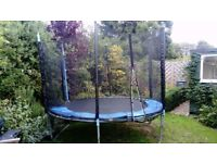 Trampoline 10ft? wide pretty good condition - free of charge