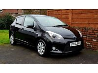 2012 Toyota Yaris 1.5 VVT-i T4 5dr AUTOMATIC & ELECTRIC HYBRID, FULL DEALER SERVICE HISTORY