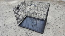 "Puppy starter kit- 24"" cage, pet run, large pet carrier, bed and 10m training lead"