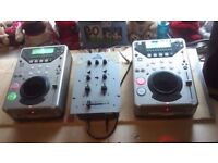 Ministory of sound CDJ,s and Mixer