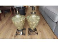 Pair of lamps. Brand new.
