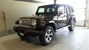 2016 Wrangler Unlimited Sahara One Owner, Accident Free, Fully