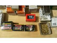 Assortment of screws