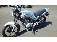 2009 Yamaha YBR 125 with full years MOT. 3300 miles.