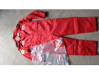 Childs Red Arrows flying suit, new, official, size 4/5
