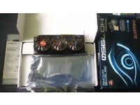 Used Gigabyte AMD HD 7950 3072MB GDDR5 In Original Packaging. Driver disc included.