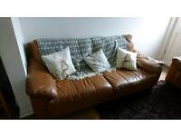 Sofa, armchair and ottoman