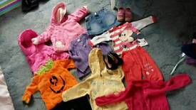 Girls clothing bundle 9-12m