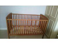 Kiddicare Baby Elegance Travis Cot Bed