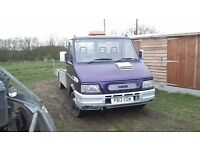 iveco daily beavertail 2.8 td mot 1996