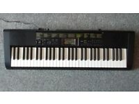 Musical keyboard - Casio CTK-1100 - 61 keys - and learn to play books