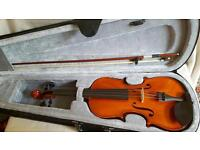 Beginners' violin set in perfect condition