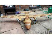 Radio controlled war plane