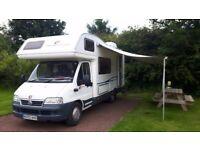 Fiat Riviera 171 2.8 6 berth 6 seats motorhome camper Motor Home