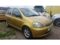 Toyota Yaris 1.0 CDX 5 Door, T Reg 1999, Cheap To Run, 113,000 Miles, Mot Till 04/08/19