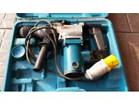 110v HAMMER DRILL SPARES OR REPAIRS .. F 5