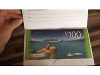 £100 Hays Travel voucher