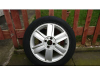 Genuine Renault alloy wheel and tire 205/55R16