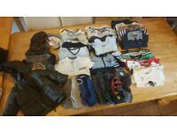 Huge bundle baby boy's clothes. Over 250 items. 0-3 3-6 6-9 9-12.