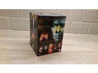 24 Box set - series 1-4. Pristine condition.