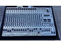 Behringer SL2442 Mixing Desk Complete with Flight Case