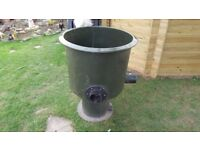Large Vortex Pond Filter with Air Ring