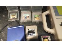 Gameboy advance with 7 games