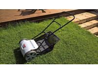 Al-Ko Soft touch push mower with grass collector