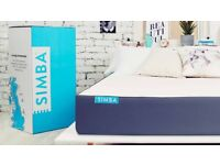 Brand New Boxed Simba Hyrbid, Double Mattress 135x190cm RRP£699 HUGE SALE NOW ON MANY AVAILABLE