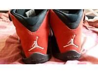 Air Jordan trainers size 10