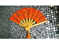 Crafted Wooden Hand Fan