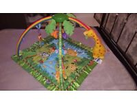 Fisher-Price Melodies and Lights Gym / Playmat