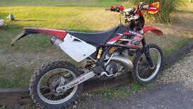 Gas Gas 250 Endoro Road legal motorbike 2 stroke