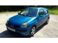 03 Renault Clio 1.5 DCI Dynamique £30 Annual Road Tax MOT April 2019
