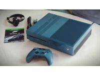 microsoft xbox one console few months old black with FIFA xb1 1 tb like new forza limited edition