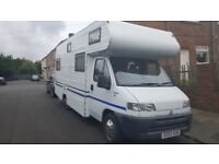 6 birth motorhome mint inside and out