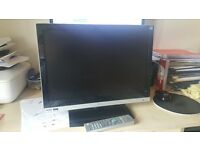 "19"" LCD TEAC TV with built in freeview"